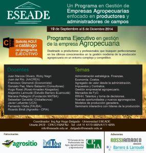 ESEADE Agropecuarias
